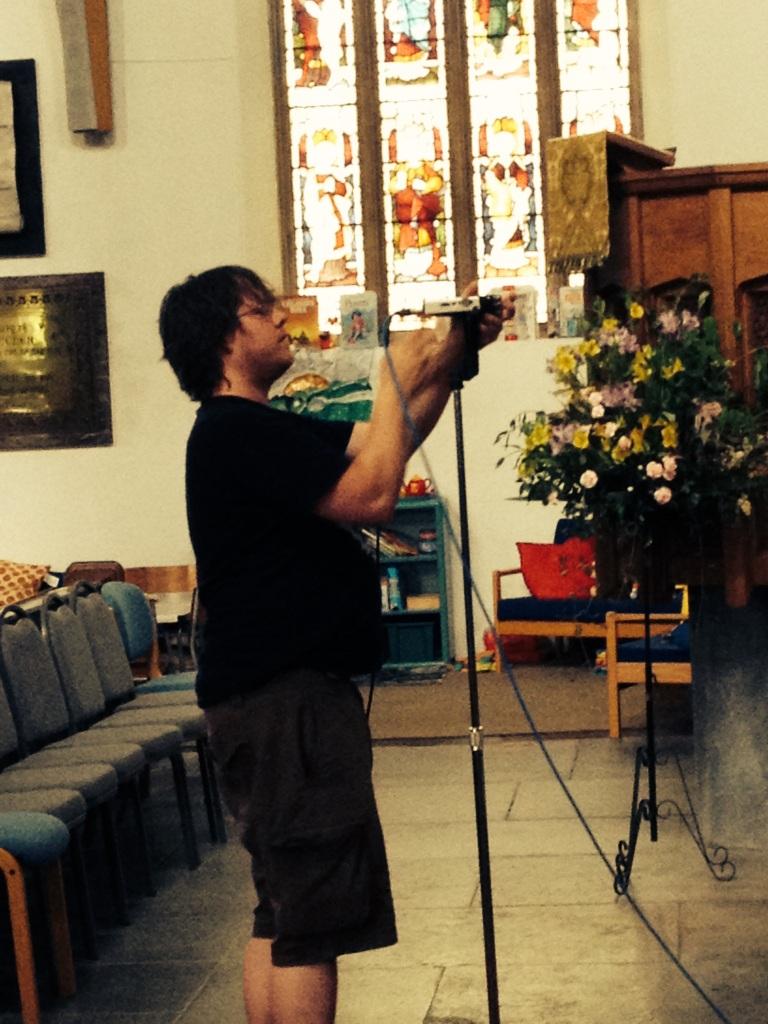 Church drum recording